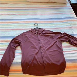 Lululemon stretch long sleeve dress shirt